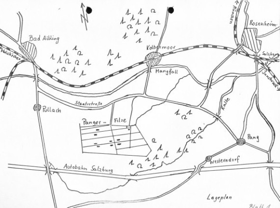 Damals gehörte Schlarbhofen noch zu Pang